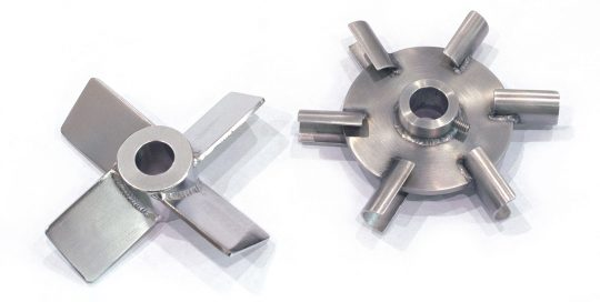 Impellers for reactor system