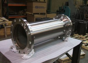 stainless steel polished pipe spool