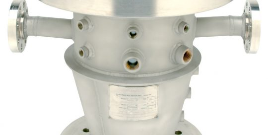 custom designed reactor body