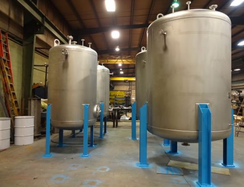 Stainless Steel Pressure Vessels for New Research Laboratory