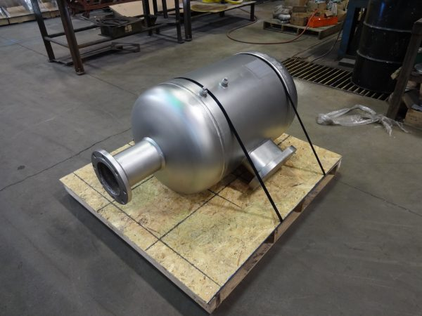 pressure vessel for air recycling