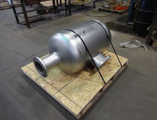 Custom Pressure Vessel designed for Air Recycling