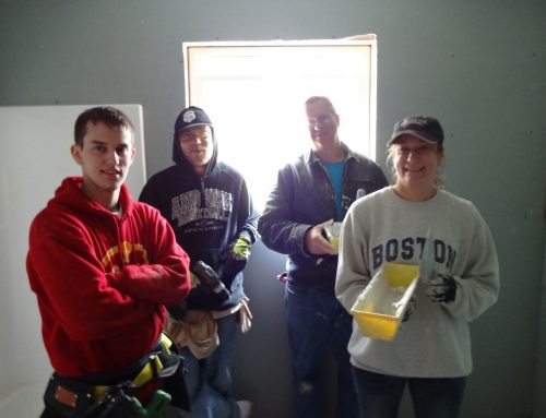 Habitat for Humanity House Build