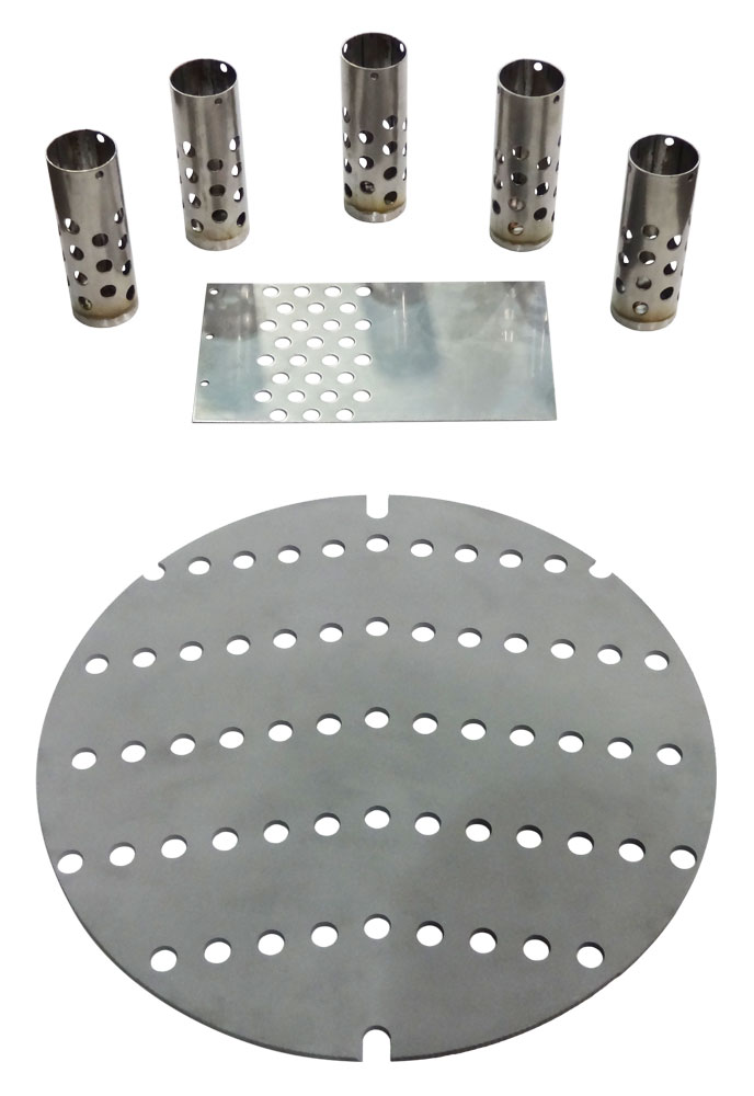 products made with the EUROMAC punch press