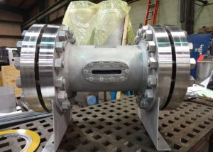 pipe spool with sight glass