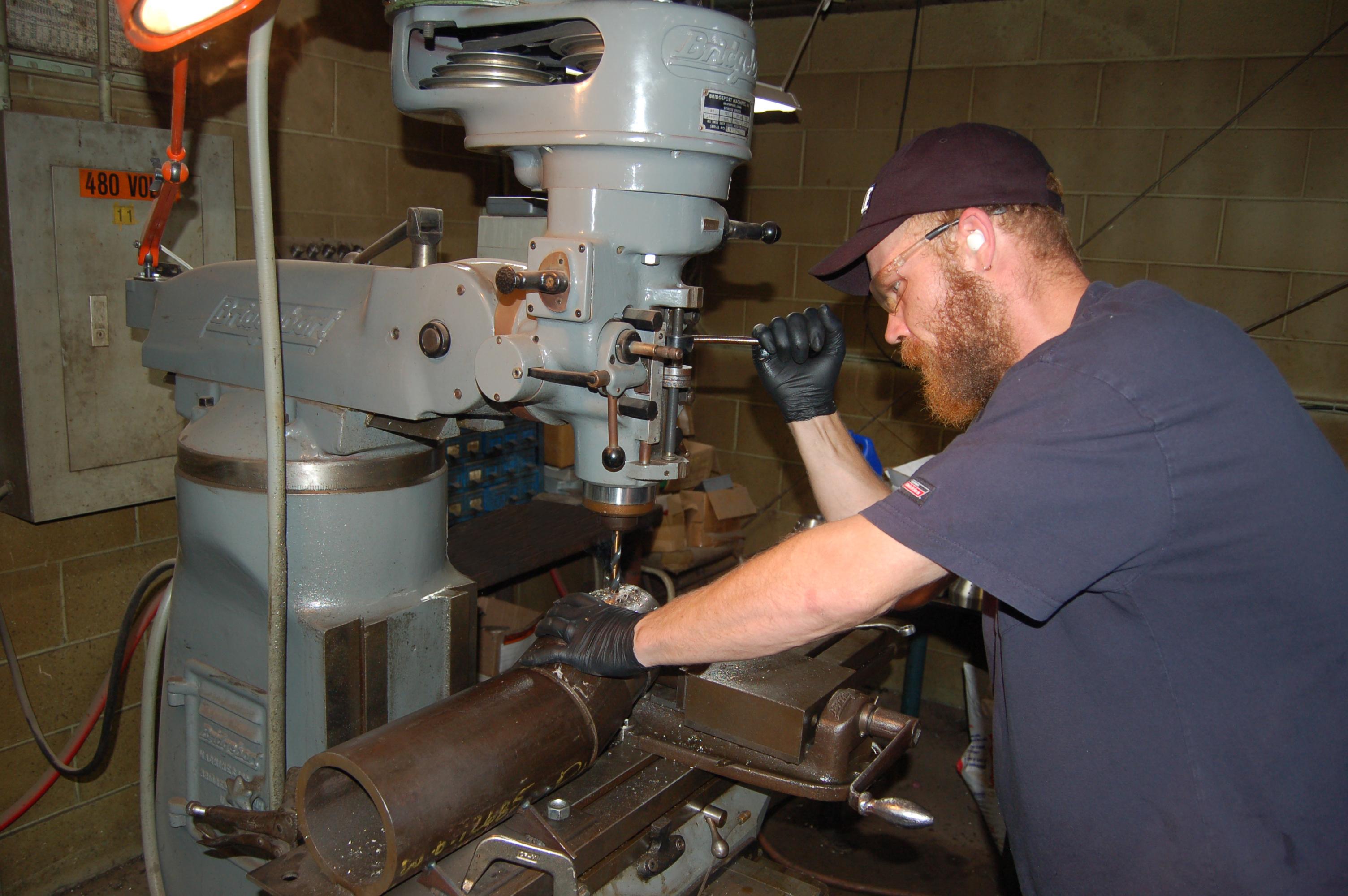 employee drilling